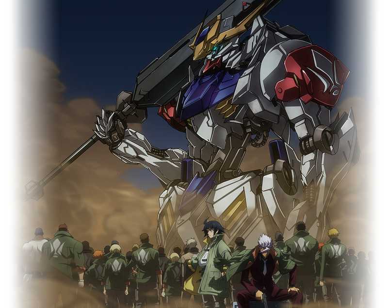 Illustration for article titled Gundam: Iron Blooded Orphans Season 2 - The 1st Trailer Impressions (Spoilers)