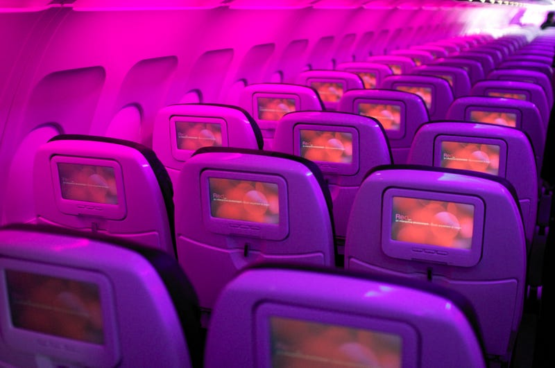 Illustration for article titled Virgin America Installed a New In-Flight System to Help You Get Laid