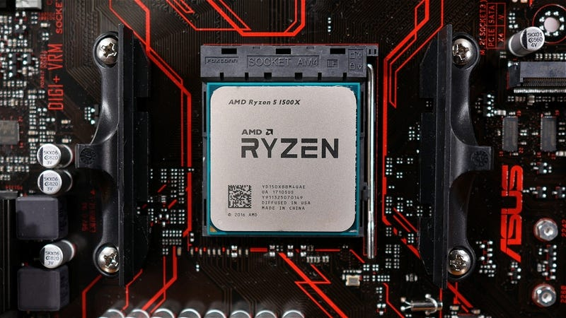 amd ryzen 5 1500x intel equivalent