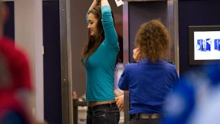 Illustration for article titled TSA Agents Singling Out Sexy Women for Multiple Body Scans