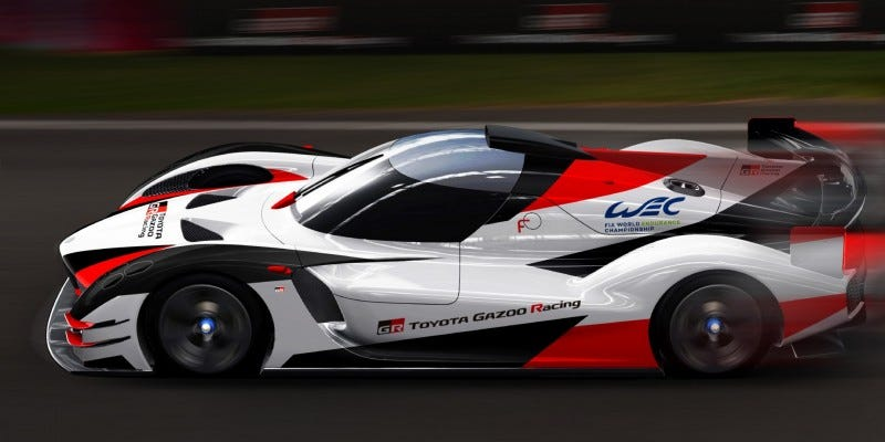Illustration for article titled Toyota Is Definitely Going To Stick With This Endurance Racing Thing