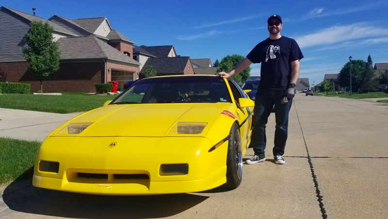 i helped a michigan man fix his late father's highly-modified pontiac fiero  and my god does it rip