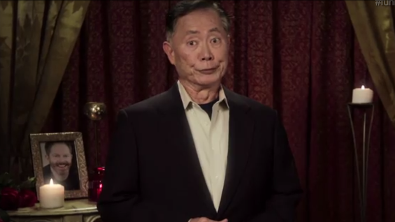 Illustration for article titled What The World Needs Now: 'The (Gay) Bachelor' With George Takei