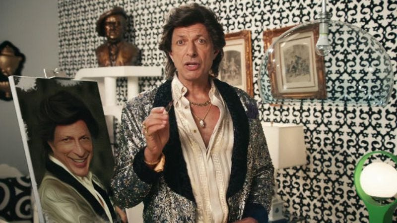 Illustration for article titled Tim & Eric directed a lightbulb commercial starring Jeff Goldblum