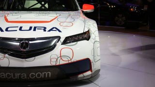 Illustration for article titled Acura's TLX Race Car Actually Uses Legit Le Mans Technology