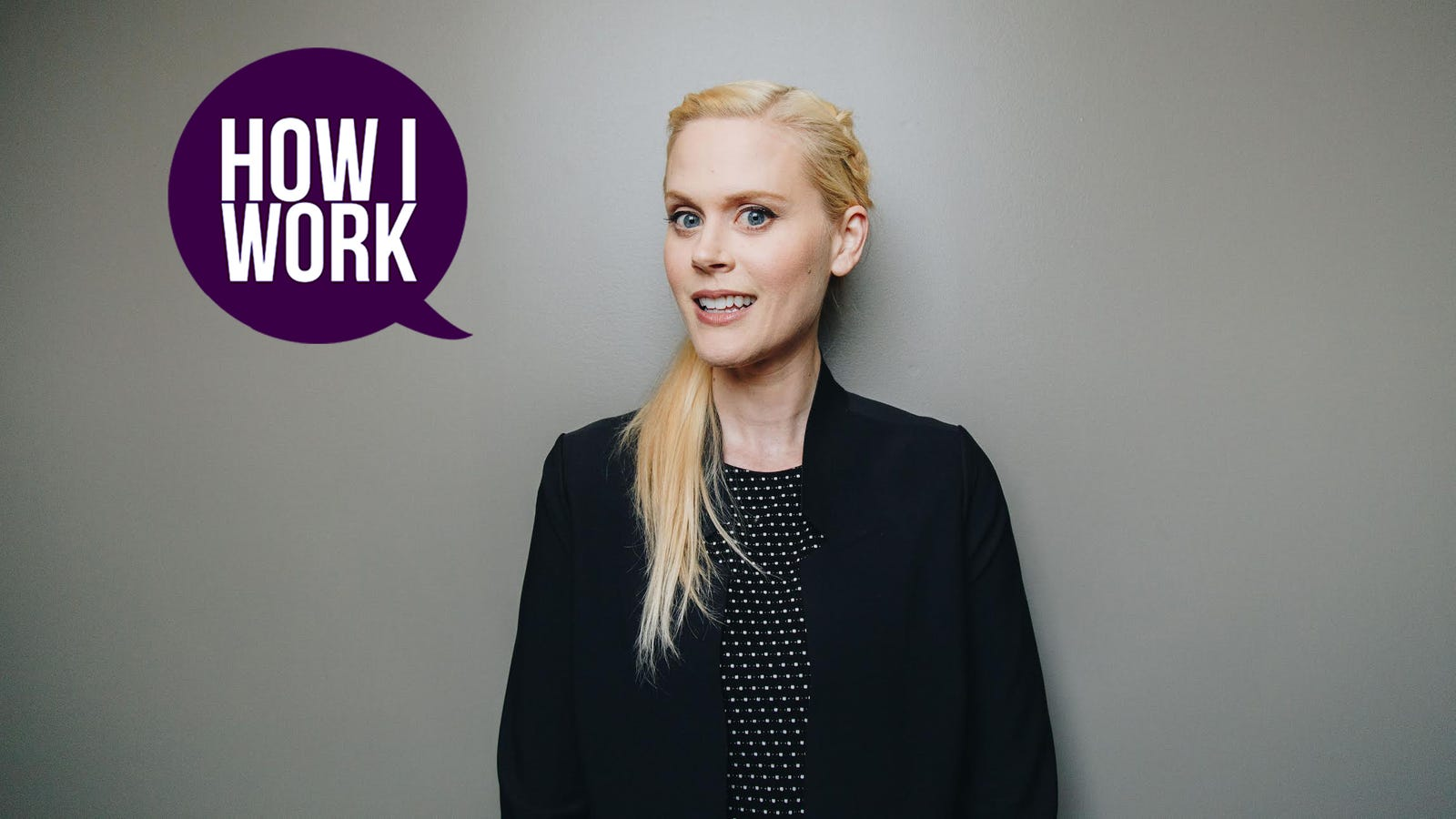 QnA VBage I'm Janet Varney, and This Is How I Work