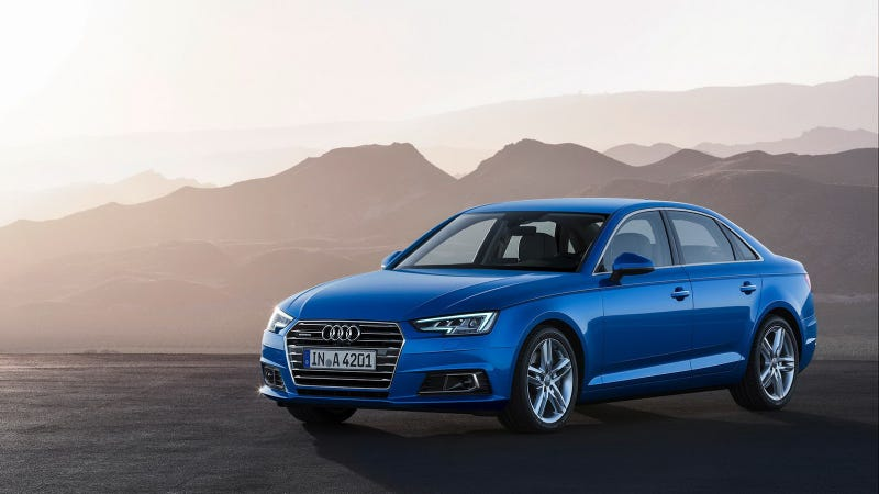 Illustration for article titled The 2017 Audi A4 Will Start At $37,300 And A4 Quattro At $39,400
