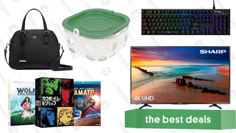 Monday's Best Deals: Sharp Roku TV, Anime Blu-rays, Kate Spade, and More