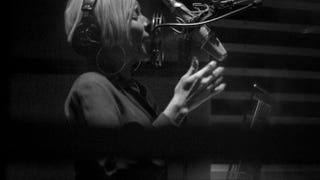 Mary J. Blige in the studio for the documentary Mary J. Blige—the London Sessions Sam Wrench