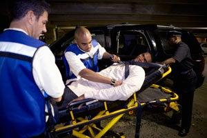Lebron Car Crash
