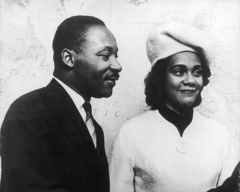 Martin Luther King and Coretta Scott King, circa 1967-1968 (Keystone-France/Gamma-Keystone via Getty Images)