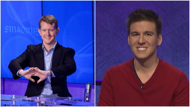 Jeopardy! champs Ken Jennings and James Holzhauer now facing off on the true mental battlefield: Twitter