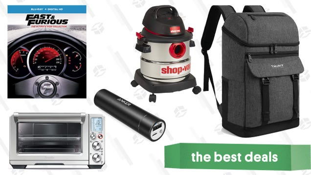 Monday s Best Deals: Anker Lightning Cables, Smart Oven, Insulated Backpacks, and More