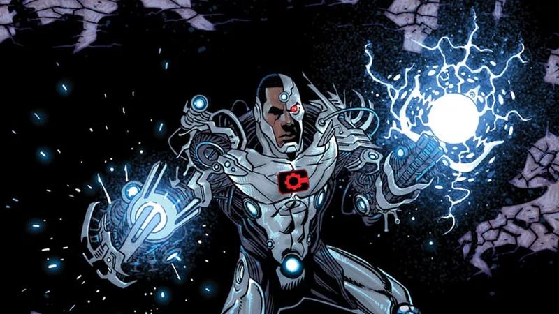 Image: DC Comics. Cyborg #21 cover art by Sam Lotfi.