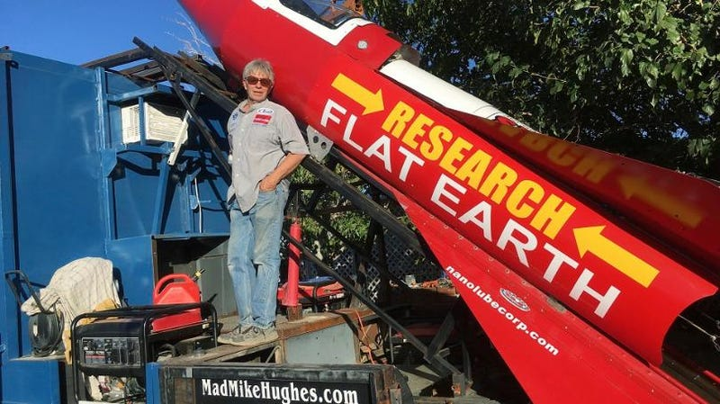 Flat Earth Believer To Launch Himself In Homemade Rocket