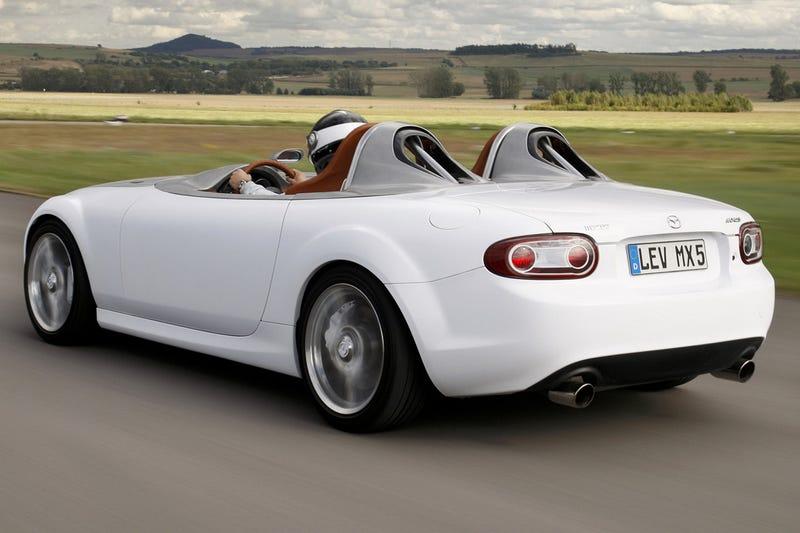 Illustration for article titled Mazda MX-5 Superlight Concept