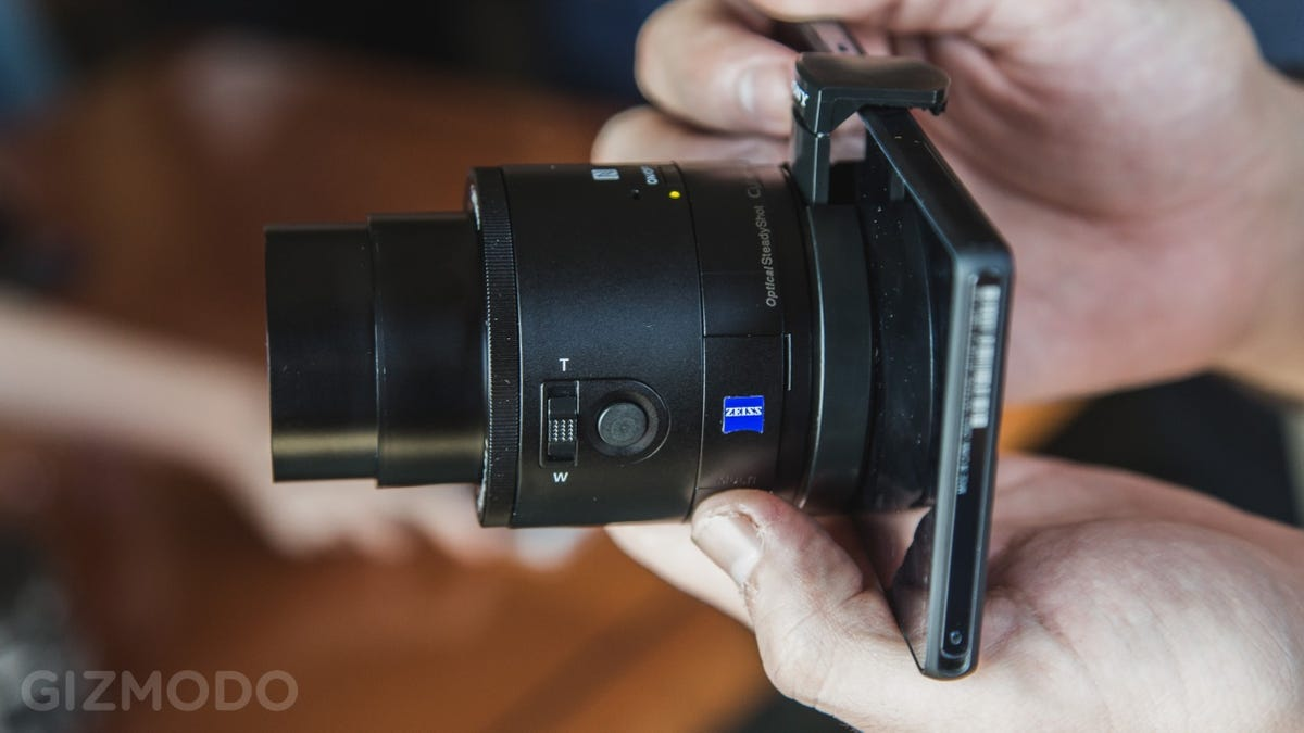 Sony QX100: A Fancy, Freaky Lens-Camera That Feeds Off Your