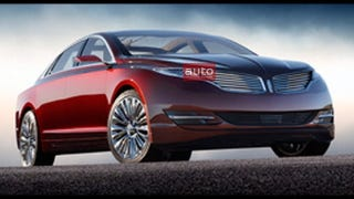 Illustration for article titled Why Does The Lincoln MKZ Concept Look Like John Wilkes Booth?