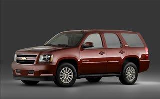 Illustration for article titled GM Offers Mind-Boggling $4,000 Incentive On Hybrid SUVs
