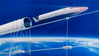 Illustration for article titled In the Future, Maglev Cannons Will Shoot Us Into Space