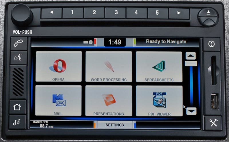 Illustration for article titled Ford Winning Dashboard Tech War: Trucks Getting Opera Browsers With Their 3G