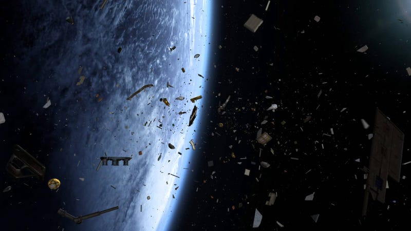 Illustration for article titled Space Junk Is Becoming a Serious Security Threat