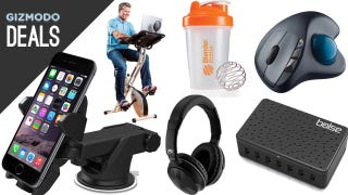 Illustration for article titled iOttie's New Dash Mount, Surf While You Bike, Wireless Audio [Deals]