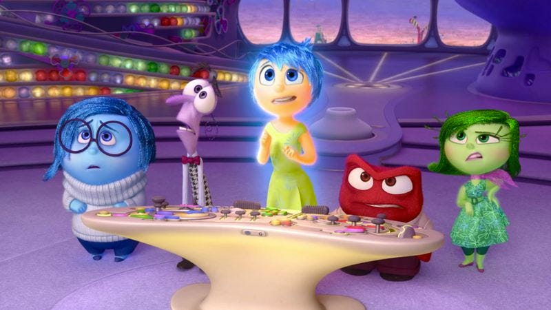 Illustration for article titled Video essay examines how Inside Out portrays emotional theories