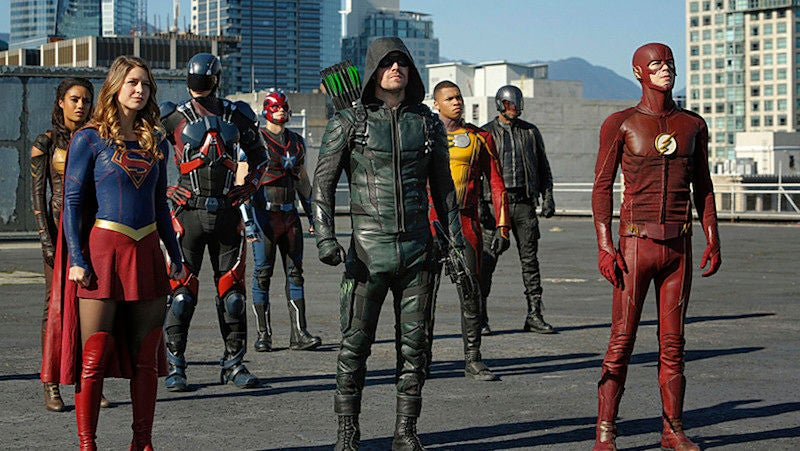 SUPERGIRL, FLASH, ARROW, & DC's LEGENDS OF TOMORROW Renewed For 2017-18