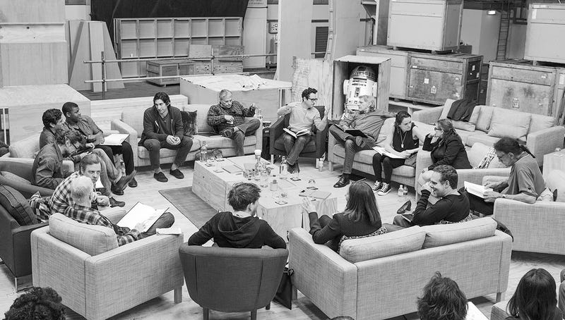 Illustration for article titled Who's Obviously Who In Star Wars Episode VII.