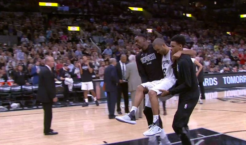 Tony Parker out for the playoffs following knee injury
