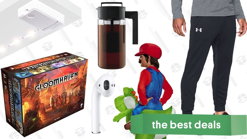 Illustration for article titled Monday's Best Deals: Gloomhaven, Luminoodle Click, AirPods, and More