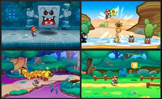 Illustration for article titled Paper Mario Brings 2D To The 3DS