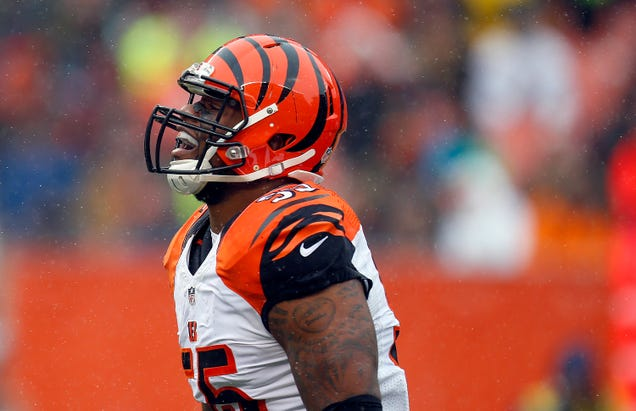 You Know Football Is Back When Vontaze Burfict Is Facing A Huge Suspension For A Dirty Hit