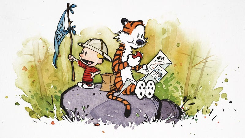 Illustration for article titled Calvin And Hobbes embodied the voice of the lonely child