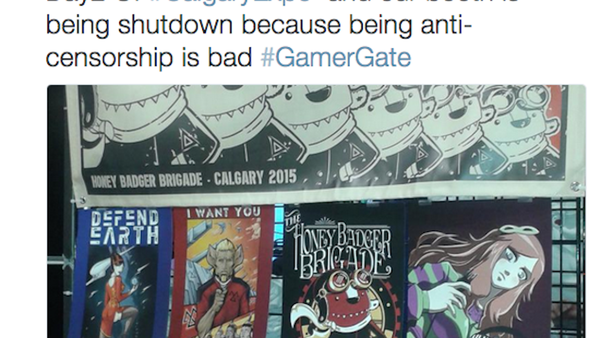 gamergate booth kicked out of canadian comic expo updated