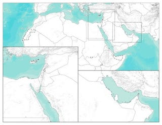 Illustration for article titled Blank Map Of The Middle East Pdf Free