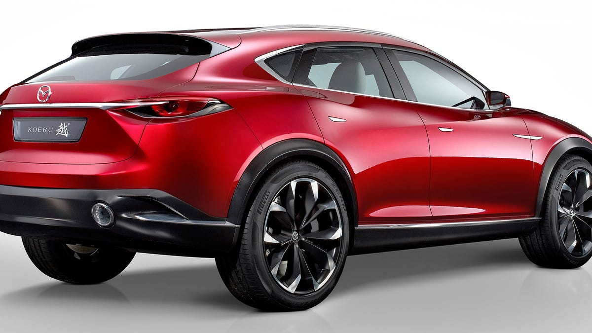 Mazda Cx 6 >> Mazda Cx 4 Or Cx 6 Looks Like This Is It