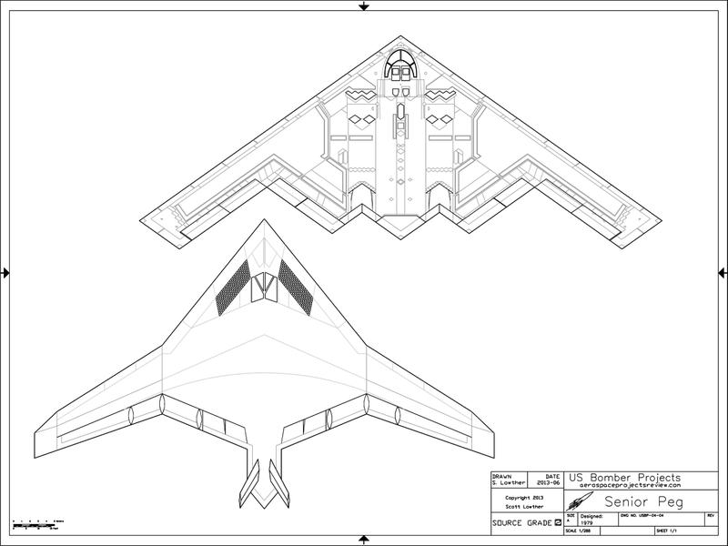 Lockheed Senior Peg Northrop Senior Ice B 2a Atb