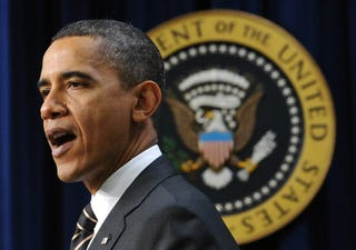 President Obama is leading the pack, but not by very much. (Getty Images)