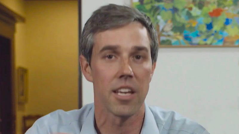 Illustration for article titled Beto O'Rourke Announces He Starting Obama Cover Campaign