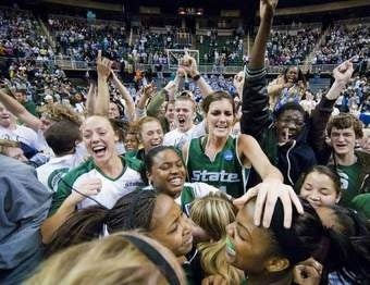 Illustration for article titled Michigan State Women Take Advantage Of Crazy Tournament Format