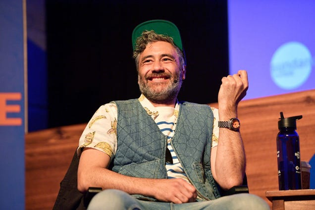 Please enjoy a treasury of images of Taika Waititi napping