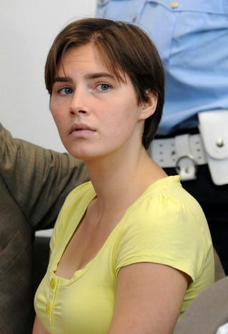 Illustration for article titled Amanda Knox On Trial Again, This Time For Slander