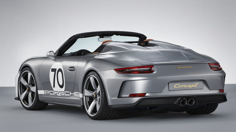 The Porsche 911 Speedster Concept S Delights Are In The