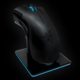 Illustration for article titled Razer Mamba Gaming Mouse Is Lag Free, Can Kill You With a Single Bite