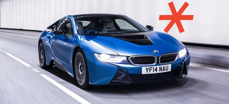 Illustration for article titled Yes It's Real: You Can Buy This BMW i8 For The Price Of A Chevy Spark!