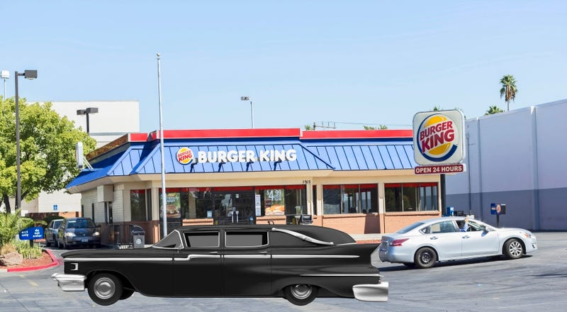 Illustration for article titled Hearse stops at Burger King