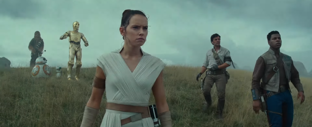 In the Jawdropping First Trailer For Star Wars: The Rise of Skywalker, the End of a Saga Begins