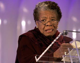 Maya Angelou Chip Somodevilla/Getty Images